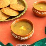 Aloo saag/sabji or Mathura Ke Dubki wale Aloo is a simple yet flavourful, tasty and spicy no onion no garlic vegan curry made using potatoes.