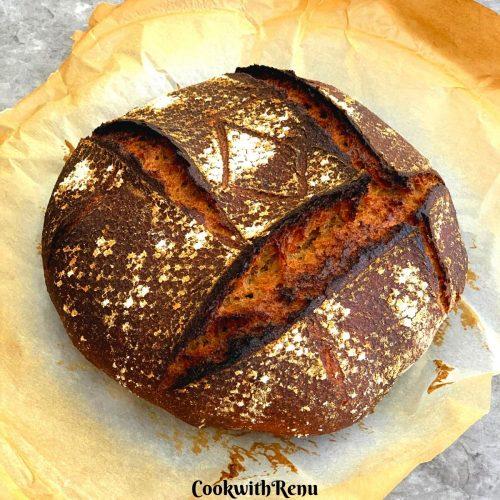 Spelt and Rye Breakfast Sourdough Bread