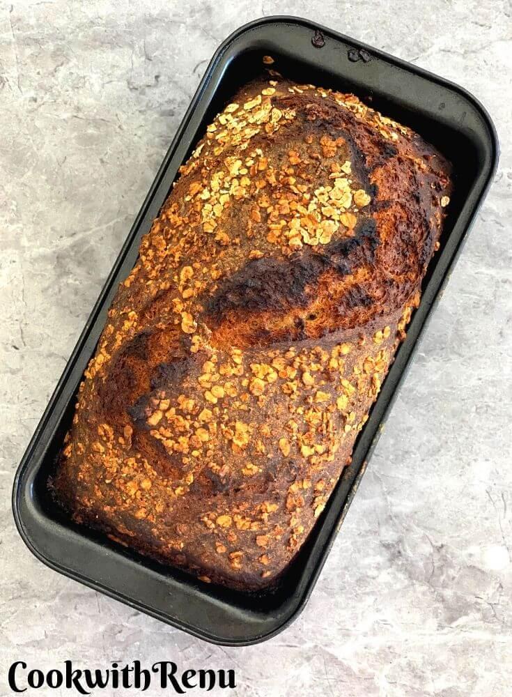 Spelt and Rye Breakfast Sourdough Bread - Loaf Sandwich Sourdough bread a closer look