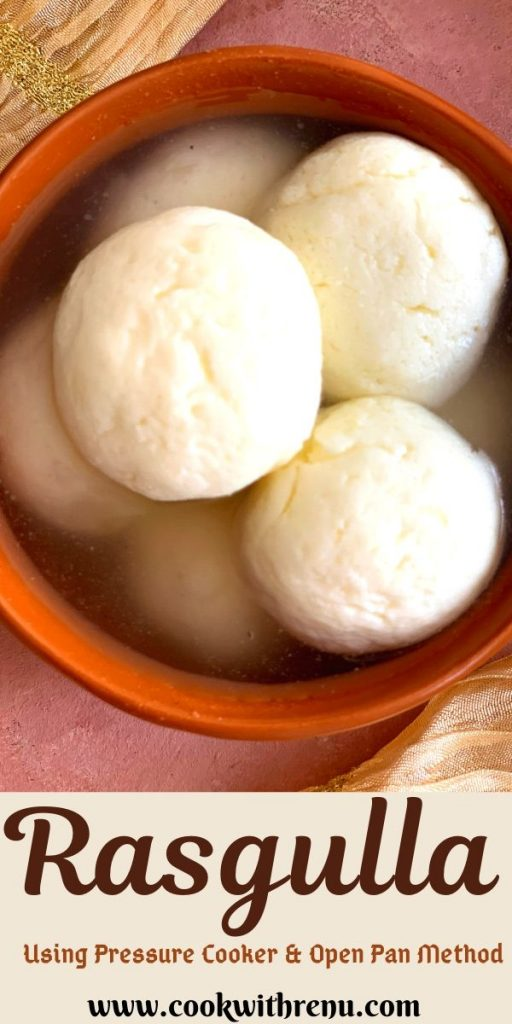 Soft Spongy Bengali Rasgulla or Rasagolas are sweet balls made using fresh chenna and soaked in sugar syrup and served chilled.