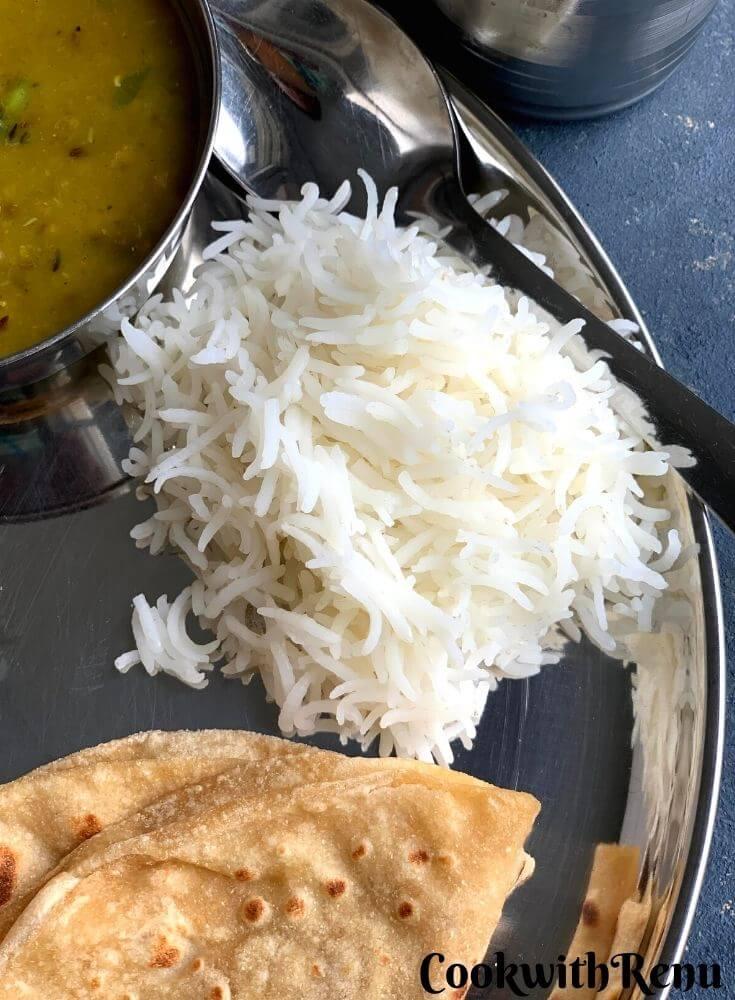 Plain Steamed White Rice