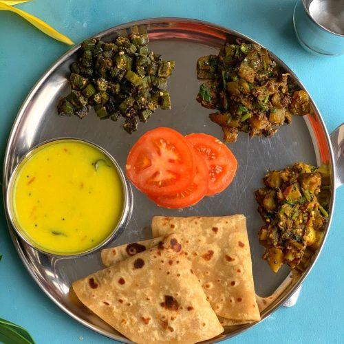 Summer special Vegetarian Thali