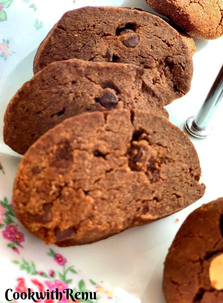 Ragi Choco Chip Cookies (Vegan, GF, Nut-Free)