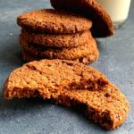 Buckwheat Oats cookies are eggless, gluten-free and nut-free melt in mouth cookies. Crunchy on the outside and soft on inside.