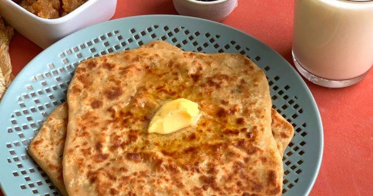 Easy Mooli Paratha (Radish | Daikon Flatbread)