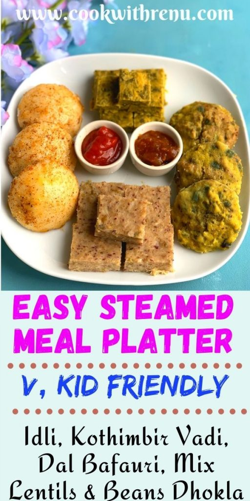Easy Steamed Meal Platter is an interesting and hit party platter which has easy make ahead recipes to cook for a crowd of all ages.