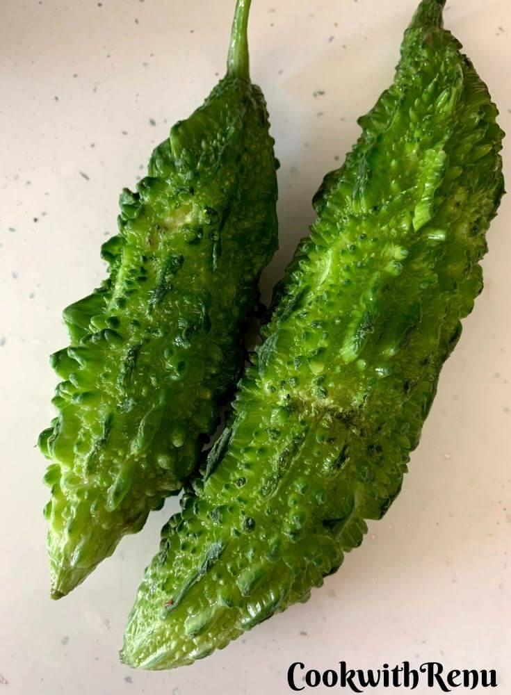 Fresh Green Karela