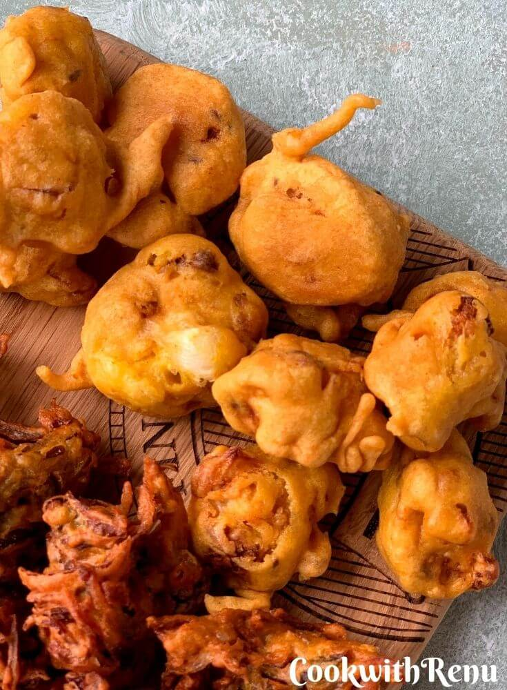 Close up look of Gobi Pakora