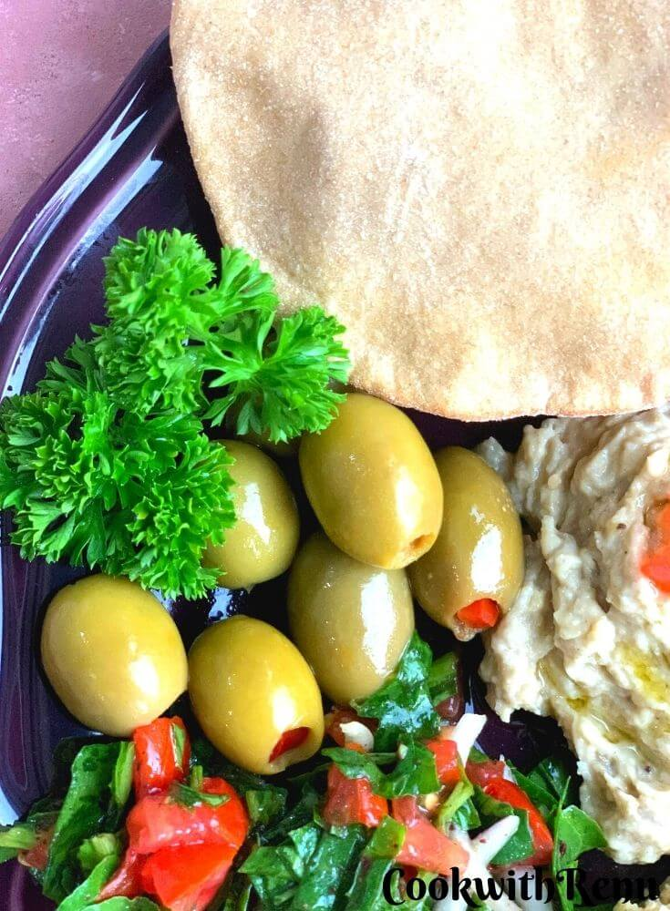 Close up look of Olives