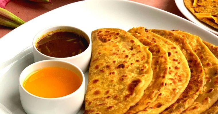 Puran Poli (Sweet Lentils Flatbread)