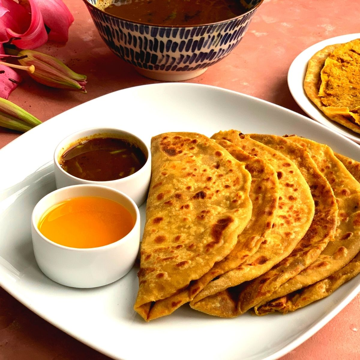 Puran Poli is a delicious sweet Lentils Flatbread from the state of Maharashtra made during special occasions like Holi, Gudi Padwa etc.