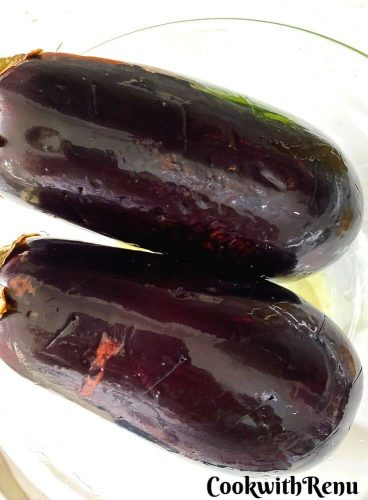 Eggplants Ready to be cooked