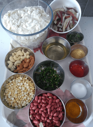 Ingredients Required for Poha