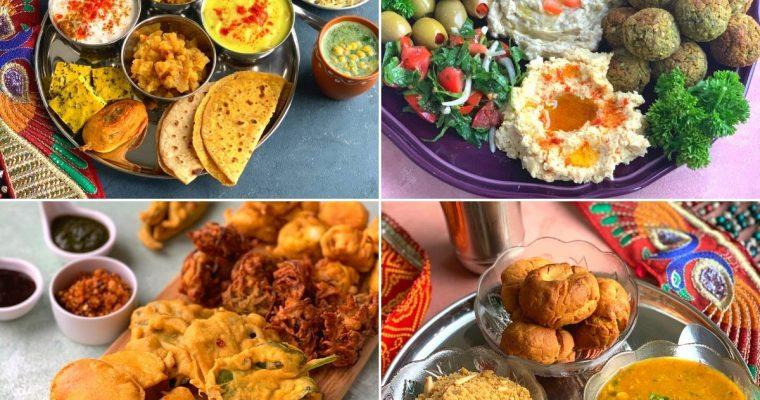 Vegetarian Thalis and Platters
