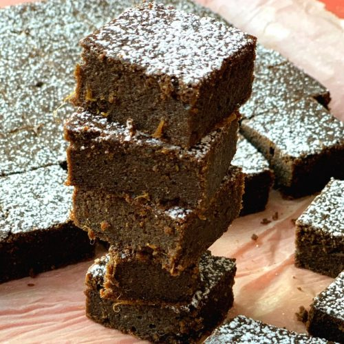 Whole Wheat Kale Brownies