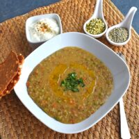 Bajra and Split Green Moong Dal Khichdi