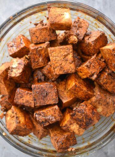 Marianted tofu