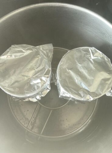 Mug Cakes done in Open Pot method