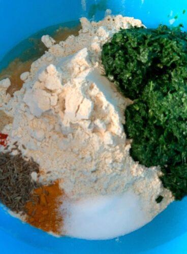 Flour, Kale & Spice mix for Kale Paratha