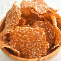 Farali Aloo Sabudana Papad (Potato Sago Papadum)