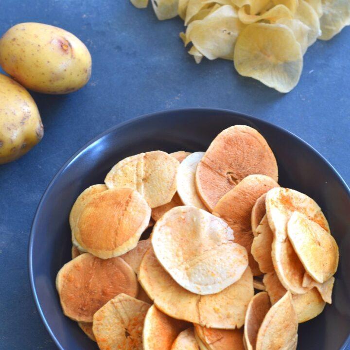 Sun-Dried Potato Chips (Potato Wafers)