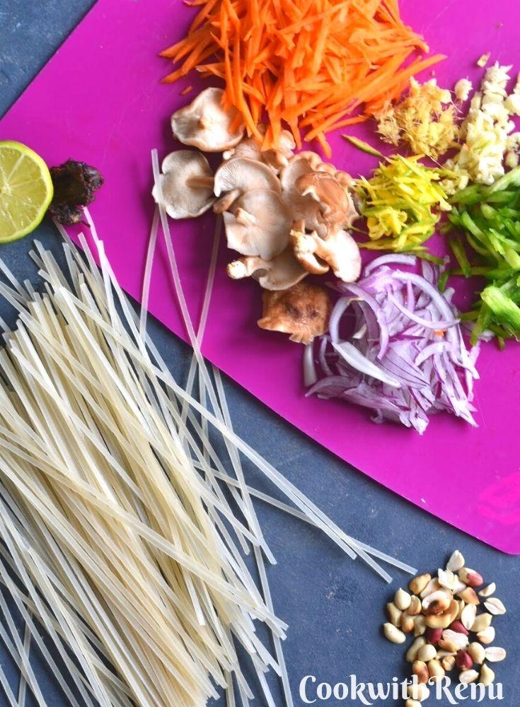 Ingredients Used In Pad Thai