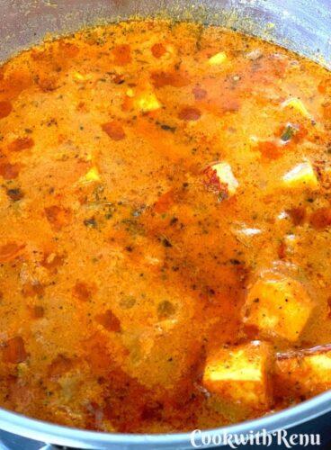Cooked Easy Veg Korma