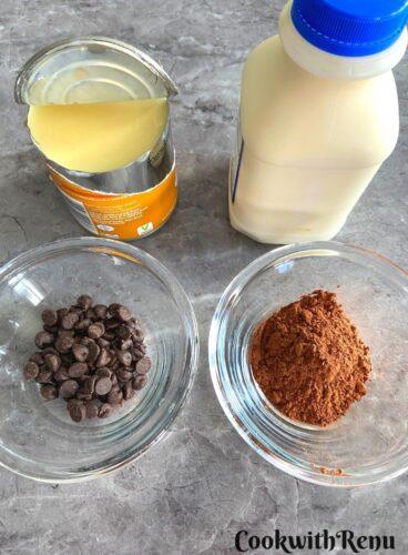 Chocolate Ice Cream Ingredients
