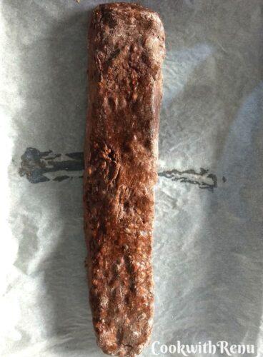 Biscotti log